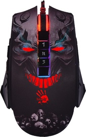 A4Tech P85 Skull Optical Gaming Mouse Black