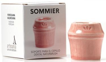 Naturbrush Sommier Toothbrush Holder Dark Pink