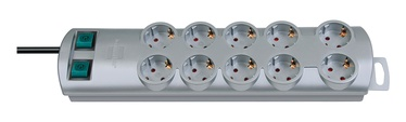 Brennenstuhl Power Strip 10-Outlet 230V 16A 2m Grey