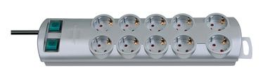 Brennenstuhl Power Strip 10-Outlet 230V 16A 2m Grey