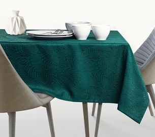 AmeliaHome Gaia AH/HMD Tablecloth Bottle Green 150x300cm