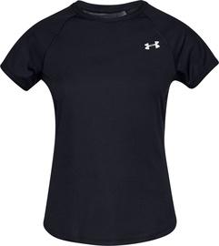 Under Armour Womens Speed Stride Short Sleeve Shirt 1326462-001 Black XS