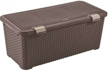 Curver Style Chest 72l Dark Brown