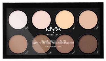 NYX Highlight & Contour Pro Palette 8x2.7g