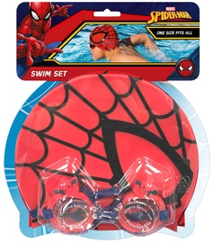 Eolo-Sport Swimming Goggles & Cap Set Spiderman