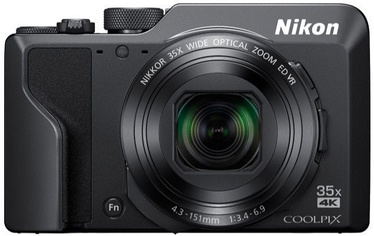 Nikon Coolpix A1000 Black+16GB+Case