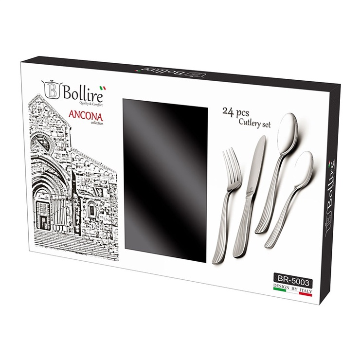 Cutlery set 24 pcs Ancona stainless steel