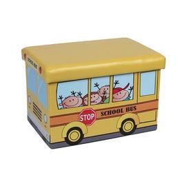 Пуф XYZ16004BE Schoolbus, 48 x 31.5 x 32 см