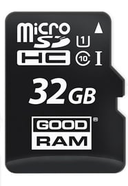 Goodram Micro SDHC 32GB UHS-I Class 10 + SD Adapter