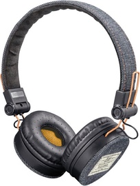 Trust Fyber Dark Denim On-Ear Headset Gray