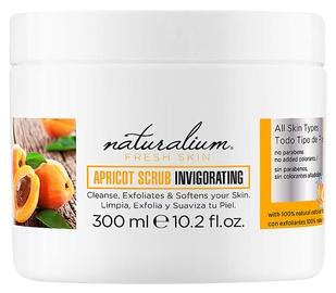Näokoorija Naturalium Apricot Scrub Invigorating, 300 ml