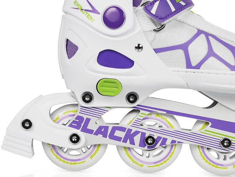 Rulluisud Blackwheels Fit White/Purple, 37-40