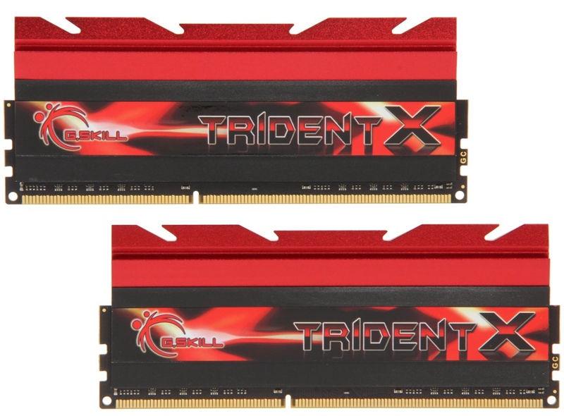 G.SKILL TridentX 16GB 2133MHz DDR3 CL9 DIMM KIT OF 2 F3-2133C9D-16GTX