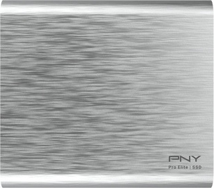 PNY Pro Elite 500GB Type-C SSD Silver