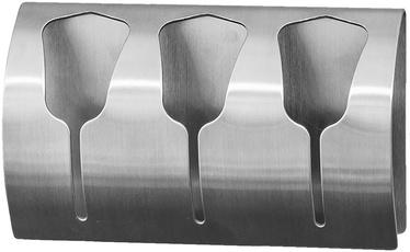 Tatkraft Bell 3 Towel Holder Stainless Steel