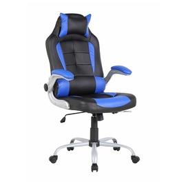 Офисный стул 6128 Blue/Black