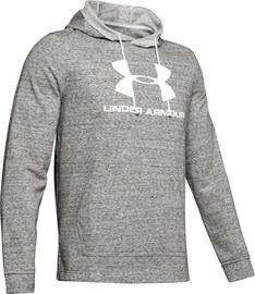 Under Armour Sportstyle Terry Logo Hoodie 1348520-112 Light Grey S