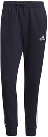 Adidas Essentials French Terry Tapered Cuff 3-Stripes Joggers GK8888 Navy S