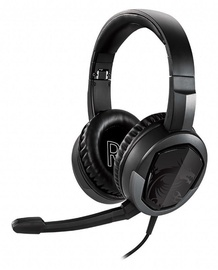 MSI Immerse GH30 V2 Over-Ear Gaming Headset Black