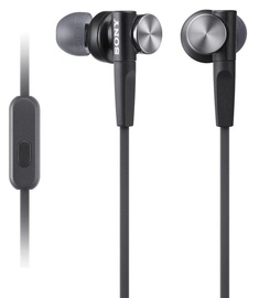 Sony XB50AP EXTRA BASS In-Ear Headphones Black