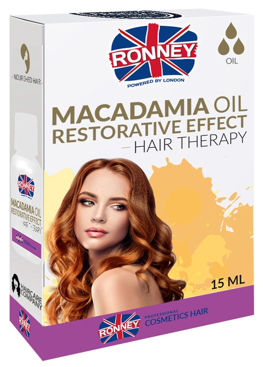 Ronney Macadamia Oil Restorative Effect Hair Therapy 15ml