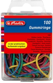 Herlitz Rubber Bands 100pcs