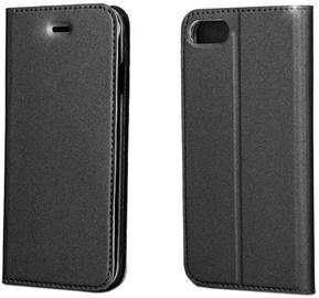 Blun Premium Smart Magnetic Fix Book Case For Xiaomi Redmi Note 4 Black