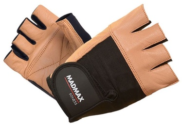 Mad Max Fitness Gloves Brown Black M