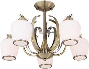 Candellux Opera Ceiling Lamp 5X60W E27 Brass