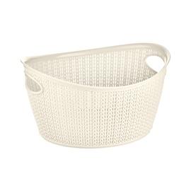 SN Knit Storage Basket 1.5l Cream