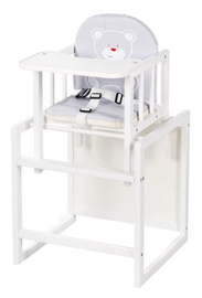 Klups Highchair Aga I C1 White/Grey