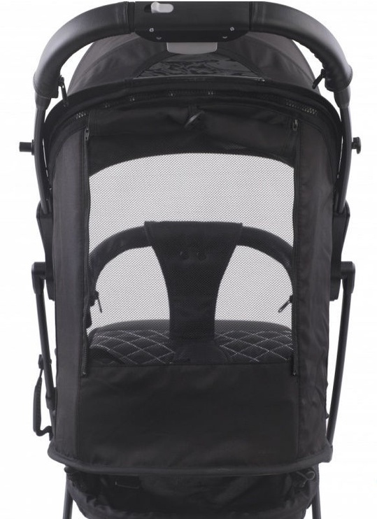 Jalutuskäru Tesoro S600, must