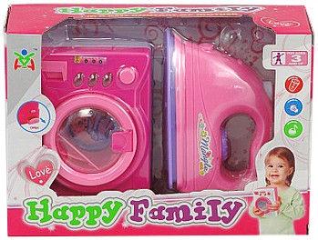 Tommy Toys Happy Family Iron & Washing Machine 461703