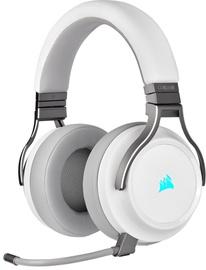Kõrvaklapid Corsair Virtuoso RGB Wireless White, juhtmevabad