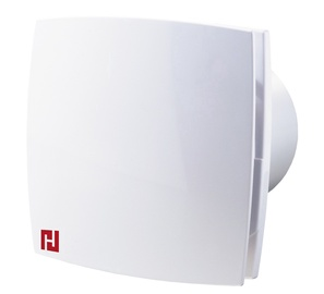 Haushalt Bathroom Exctractor Fan 100LD T 100mm White