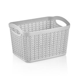 Ucsan Plastik M-083 Basket 6.6l Gray