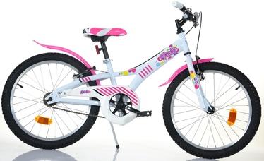 """Bottari Candy 20"""" White Pink 20"""