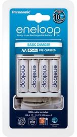 Panasonic Eneloop Battery Charger BQ-CC61 USB + 4 x AA 1900mAh