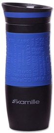 Kamille Vacuum Mug 380ml Blue KM2069A