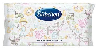 Влажные салфетки Bubchen Sensitive, 52 шт.