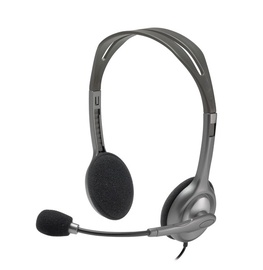 Kõrvaklapid Logitech H111 Analog Gray