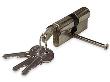 Lukusüdamik Vagner SDH 65, 30 x 35 mm, su 5 pikkis võtmega