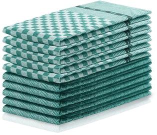 DecoKing Louie Kitchen Towels 50x70cm Green