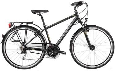 "Jalgratas Kross Trans Pacific L 28"" Black Khaki Matte 17"