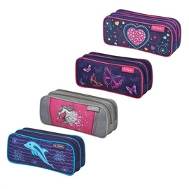 Herlitz Double Pencil Case Mix Girls