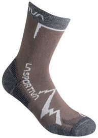La Sportiva Socks Mountain Chocolate/Carbon L
