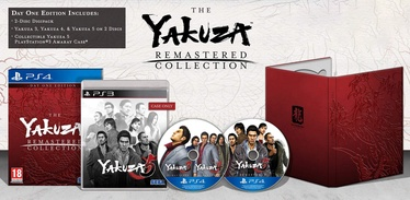 Yakuza Remastered Collection Day One Edition PS4