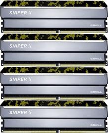 G.SKILL Sniper X 32GB 3600MHz CL19 DDR4 KIT OF 4 F4-3600C19Q-32GSXKB