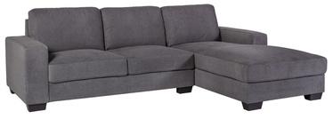 Угловой диван Home4you Kendra Grey, правый, 268 x 165 x 84 см