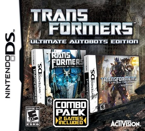 Transformers: Ultimate Autobots Edition - 2 Complete Games DS